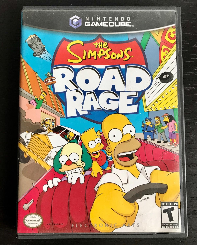 The Simpsons: RoadRage