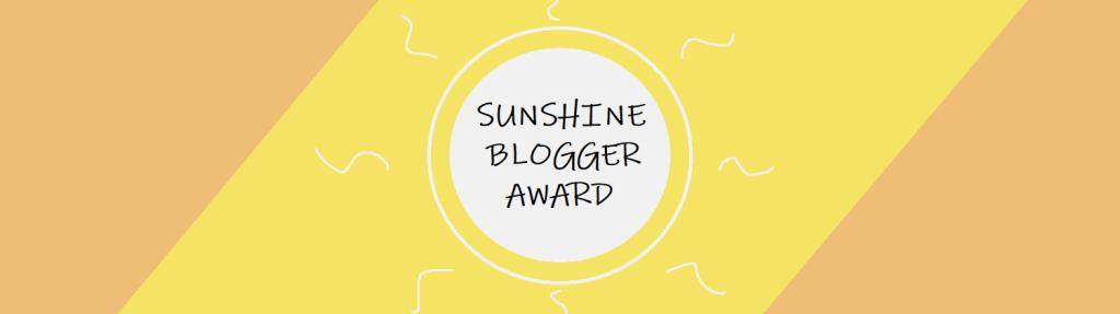 Sunshine Blogger Award – Part3